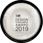 Design excellence award for best mobile application divami by cii