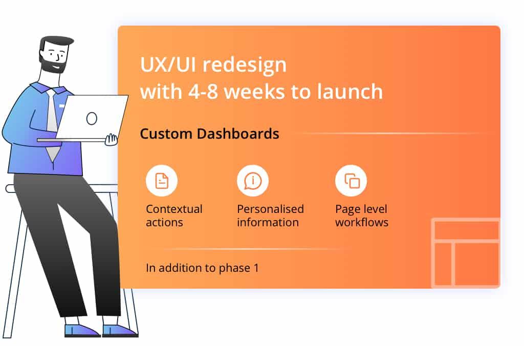 UX UI Design- 4-8 weeks