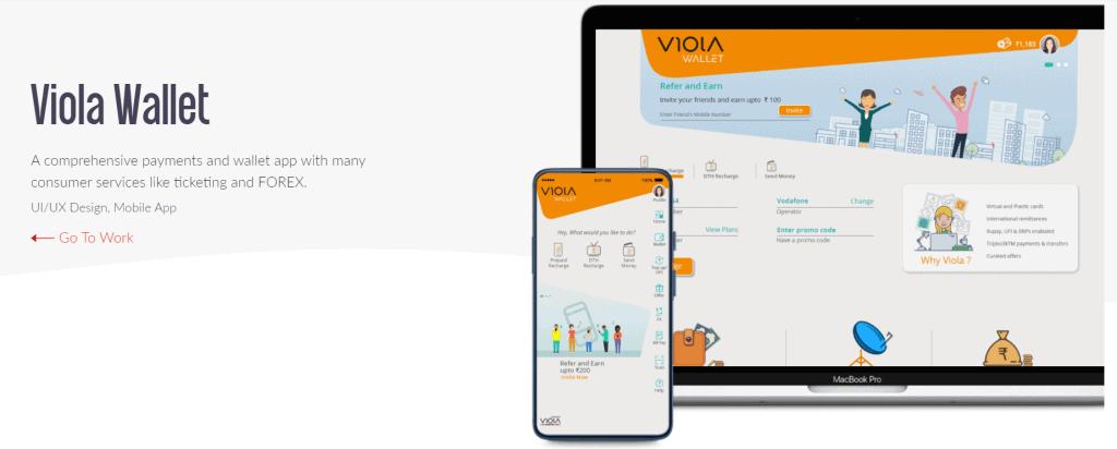 Viola Wallet design