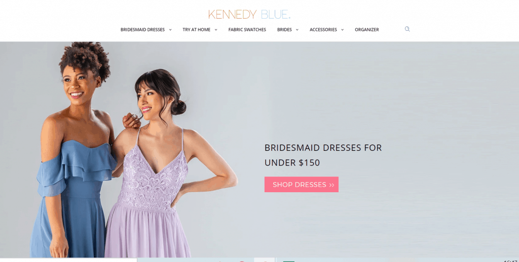 Kennedy Blue-Homepage