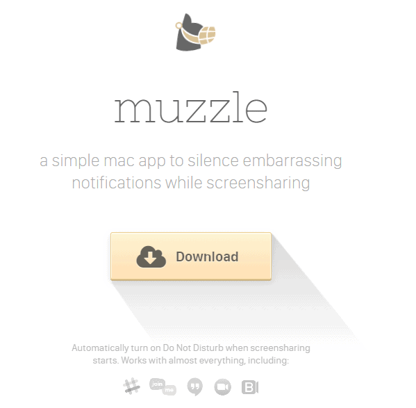 muzzle- landing page designs that work