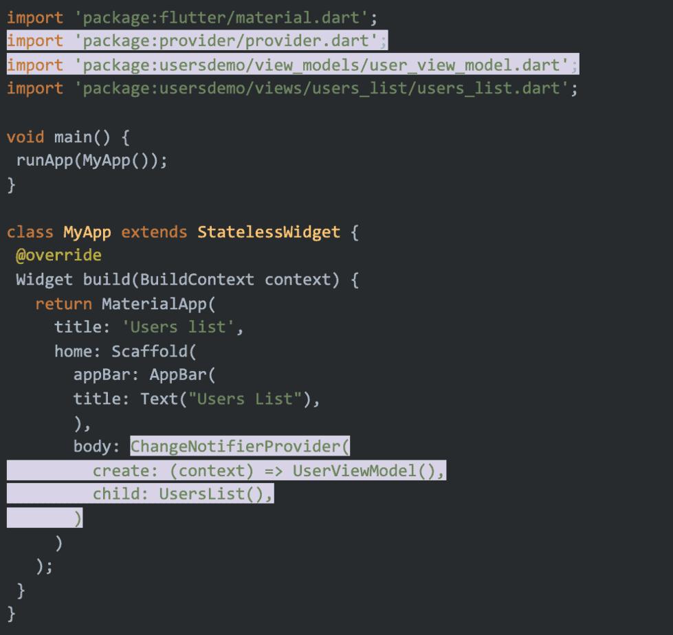 Image showing code details