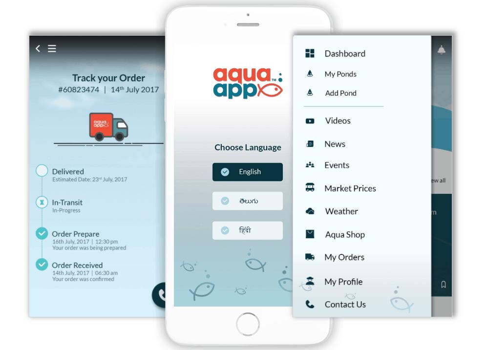 Aqua App UX UI Design