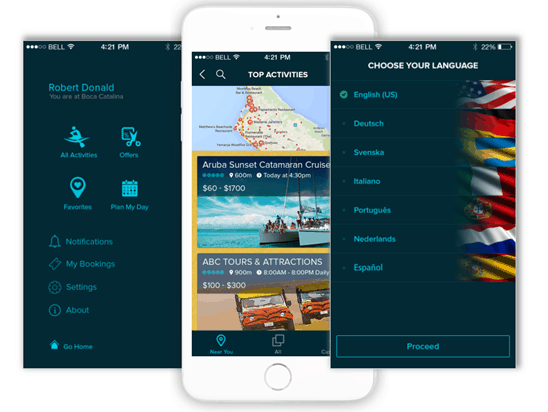 Aruba UX UI Design