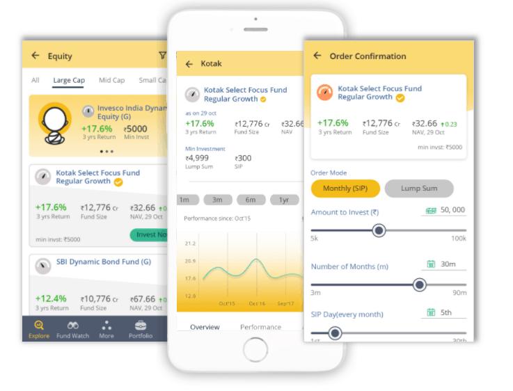 UX UI Design of Zenwise Zembala app
