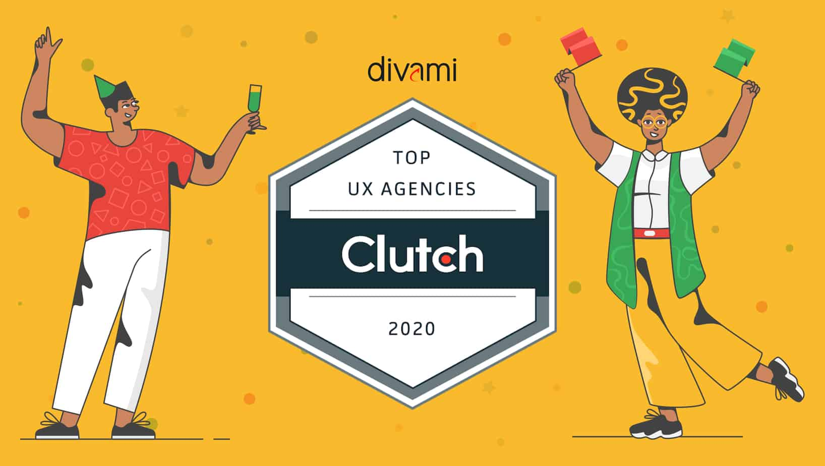 Divami Design Labs Ranked by Clutch as Top UX Design Firm