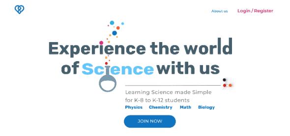 simplyscience- UX UI by divami design labs