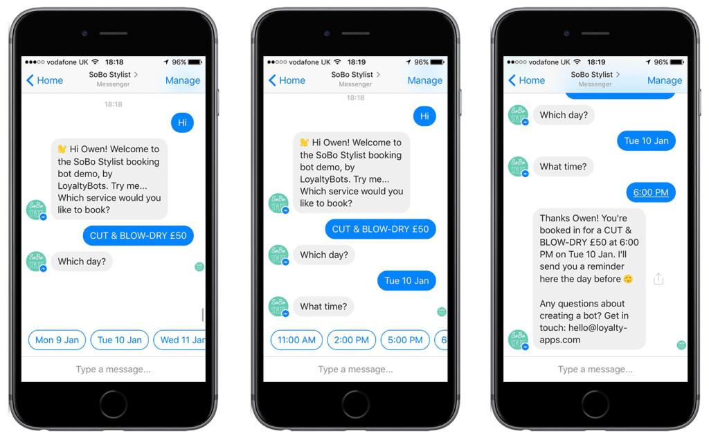chatbots provide better user experience