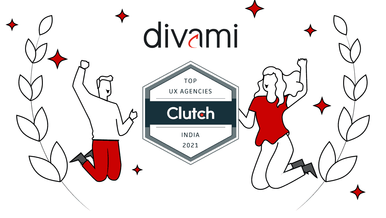 Divami Design Labs Recognized as Clutch's 2021 Leader