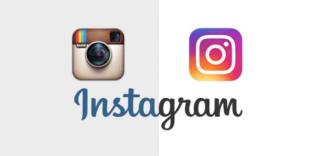 instagram logo redesign