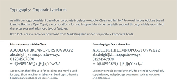 typography- design revamp for SMEs